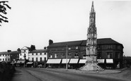 Ashby-De-La-Zouch, The Cross c.1955