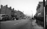 Ashby, The Shopping Centre c.1955