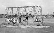 Ashby, The Swings c.1960