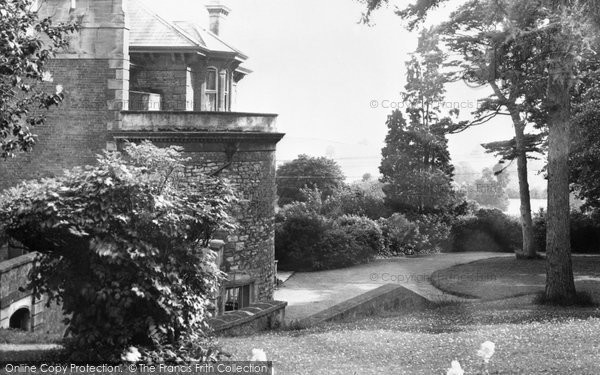 Ashcott, Etonhurst, The Grounds c.1955