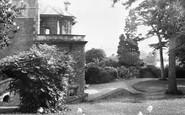 Ashcott, Etonhurst, The Grounds c.1955