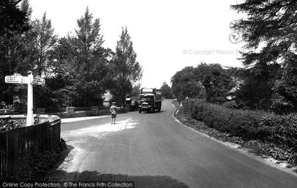 Ashdown Forest, Wych Cross 1927