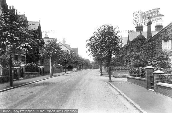 Ashford, Albert Road 1908