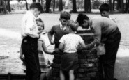Ashford, Children In Recreation Ground 1962