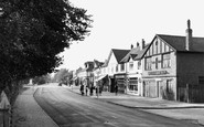 Ashford, Church Road 1950