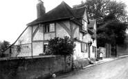 Ashford, East Hill, Old Cottage 1903