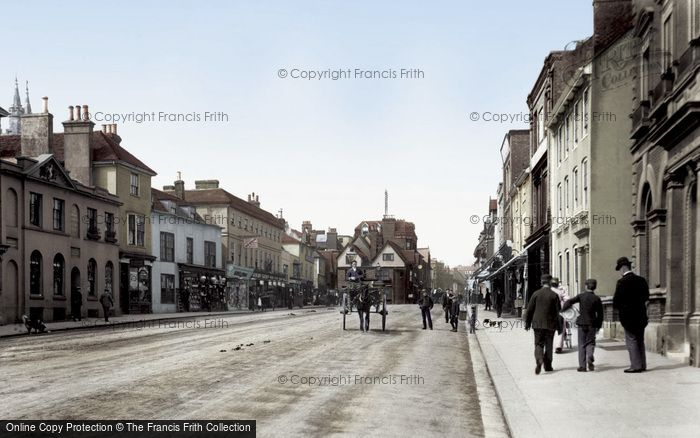 Ashford, High Street 1901