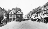Ashford, High Street 1906