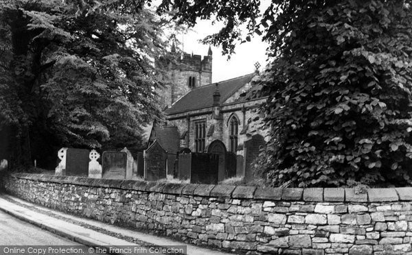 Ashford In The Water, Holy Trinity Church c.1960