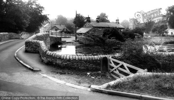 Ashford In The Water, The Sheepwash Bridge c.1965