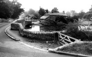 Ashford-In-The-Water, The Sheepwash Bridge c.1965