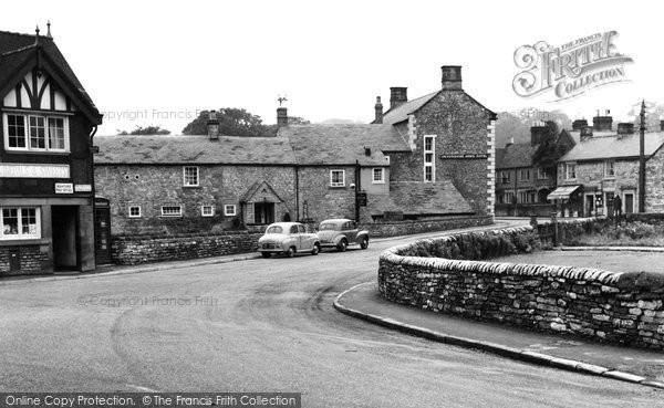 Ashford In The Water, The Village And Post Office c.1960