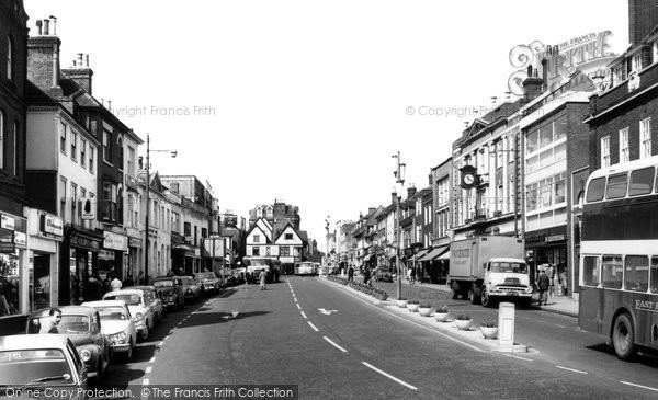 Ashford, Lower High Street c.1965