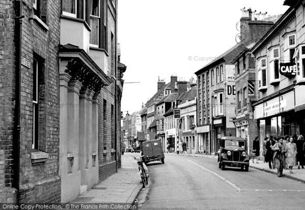 Ashford, North Street c.1950