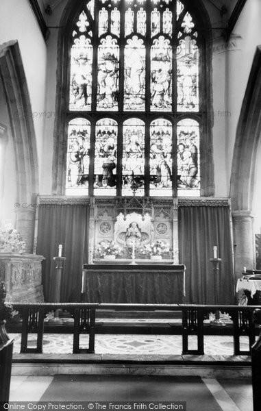 Ashford, Parish Church Interior c.1960
