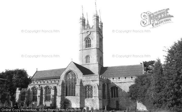 Ashford, St Mary's Church c.1965