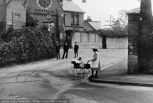Ashford, Village Children 1908