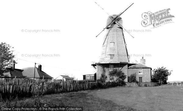 Ashford, Willesborough Windmill c.1965
