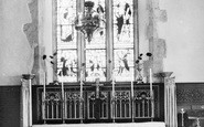 Ashingdon, Church Interior c.1955
