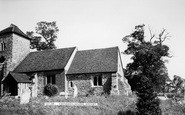Ashingdon, The Church c.1960