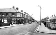 Ashington, Milburn Road c.1955