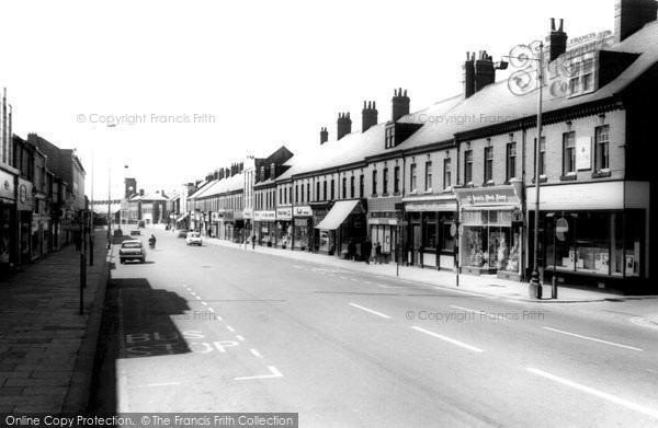 Photo of Ashington, Station Road c1960