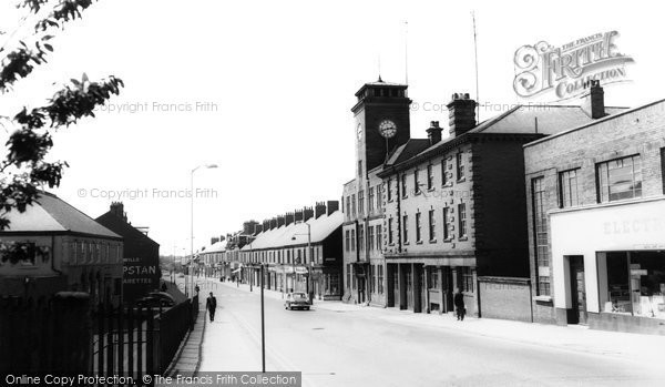Ashington, Station Road c.1960