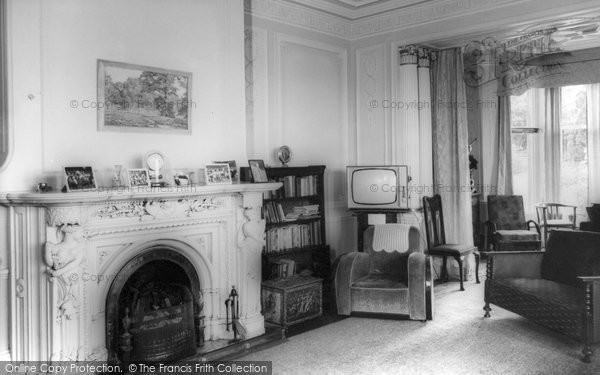 Ashover, Eastwood Grange Lounge c.1955