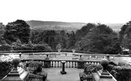 Ashover, Eastwood Grange, View From The Terrace c.1955