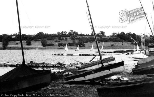 Ashover, Ogston Reservoir c.1965