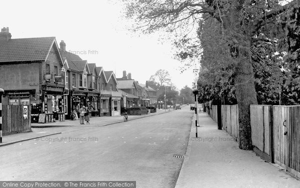 Ashtead, Barnett Wood Lane 1938