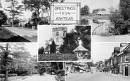 Ashtead, Greetings c.1955