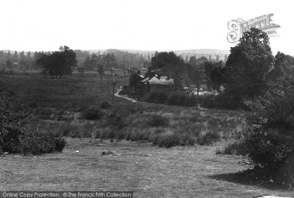 Ashtead, The Common From The Woods 1928