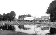 Ashtead, the Fish Pond c1950