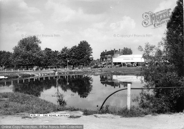 Ashtead, The Pond 1950