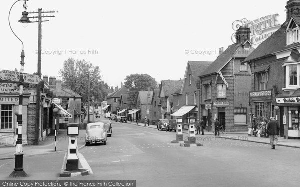 Photo of Ashtead, the Street 1950