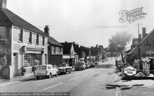 Ashtead, The Street Looking West 1961