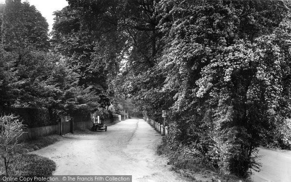 Ashtead, Woodfield Lane 1928