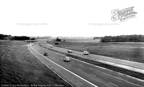 Ashton In Makerfield, Entrance To M6 Liverpool Road c.1963