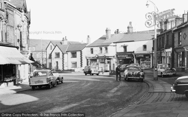 Ashton In Makerfield, Gerrard Street c.1960