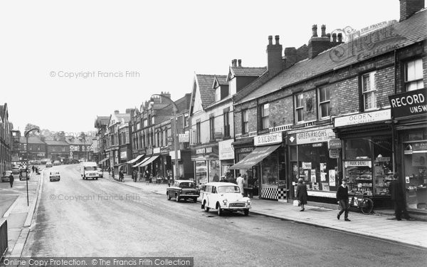 Ashton In Makerfield, Gerrard Street c.1960