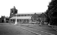 Ashton-In-Makerfield, St Thomas's Church c.1960
