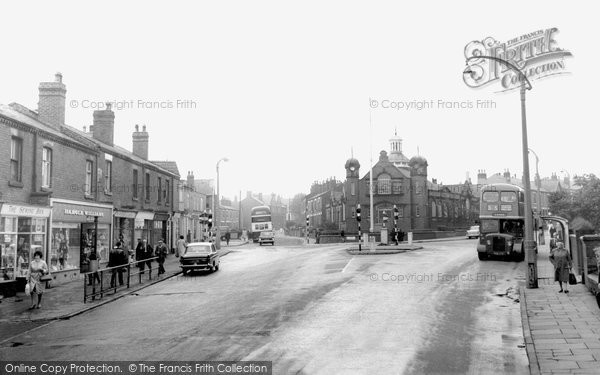 Ashton In Makerfield, The Library Wigan Road c.1960