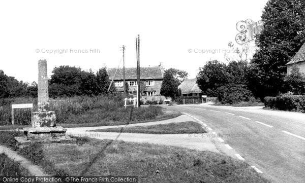 Ashton Keynes, High Road c.1955
