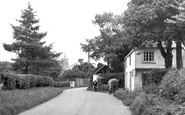 Ashwell, Back Street c.1951