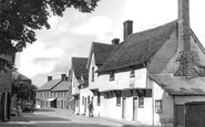 Ashwell, Forester's Cottages, High Street 1951