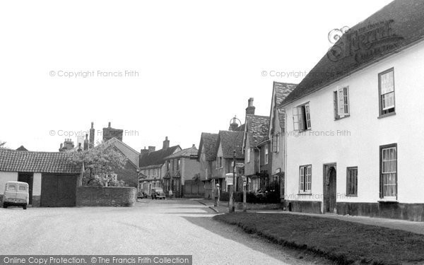 Ashwell, High Street c.1951