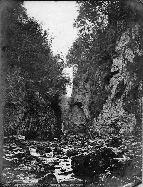 Ashwood Dale, Lover's Leap c.1876
