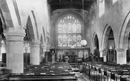 Askrigg, Church Interior 1906