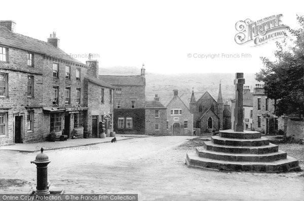 Askrigg, Market Place 1906